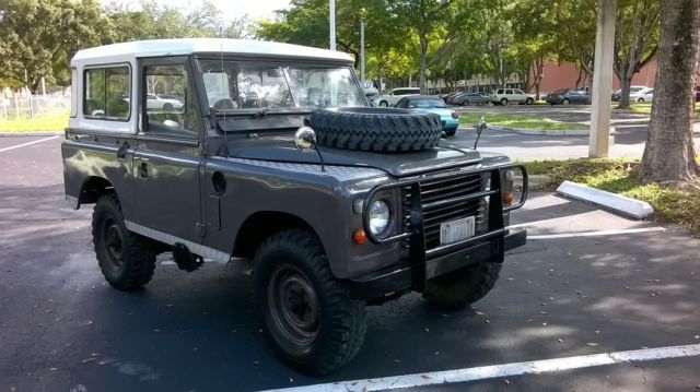 1983 Land Rover Other SERIES IIIA