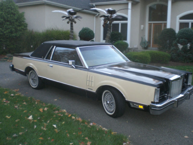 1983 lincoln continental mark vi bill blass edition for sale photos technical specifications. Black Bedroom Furniture Sets. Home Design Ideas