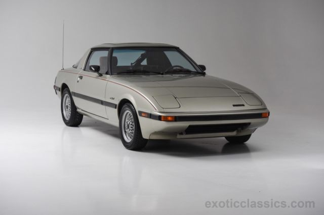 1983 mazda rx 7 s limited edition model 5 speed manual for sale photos technical. Black Bedroom Furniture Sets. Home Design Ideas