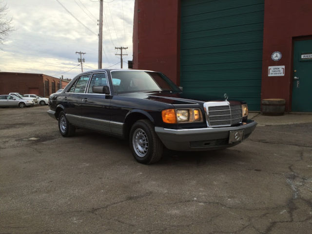 1983 mercedes 300 sd turbo diesel w126 for sale photos for Mercedes benz 300 diesel