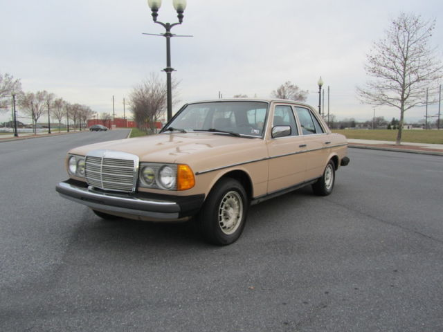 1983 Mercedes-Benz 300-Series 300 Turbo Diesel