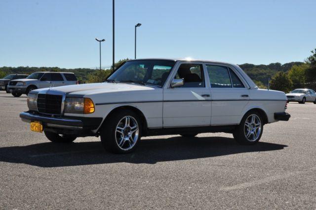 1983 mercedes benz 300d turbo diesel 3 0l 5 cylinder low for Mercedes benz diesel cars for sale