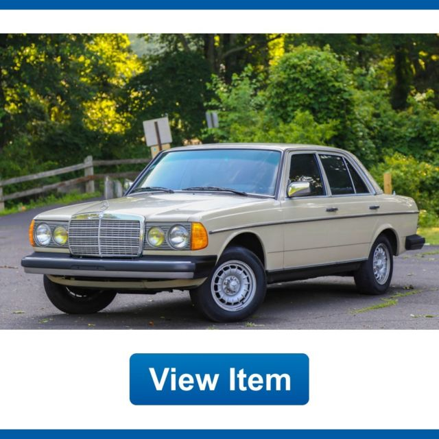 1983 Mercedes-Benz 300-Series Turbo Diesel