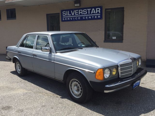 1983 Mercedes-Benz 300-Series 300D TURBO DIESEL