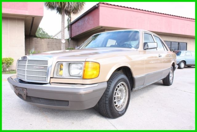 1983 Mercedes-Benz 300-Series 300SD Turbodiesel W126 FLORIDA CARFAX NO RESERVE!