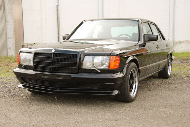 1983 Mercedes-Benz 500-Series AMG