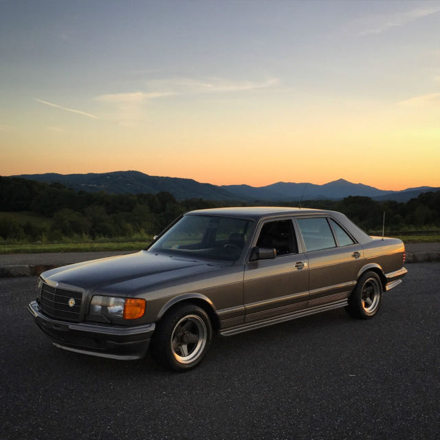 1983 Mercedes-Benz 500-Series W126 AMG