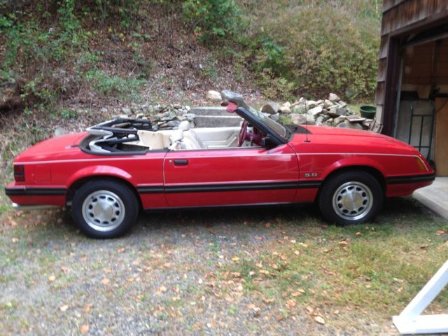 1983 mustang glx convertible 5 0 for sale photos technical specifications description. Black Bedroom Furniture Sets. Home Design Ideas