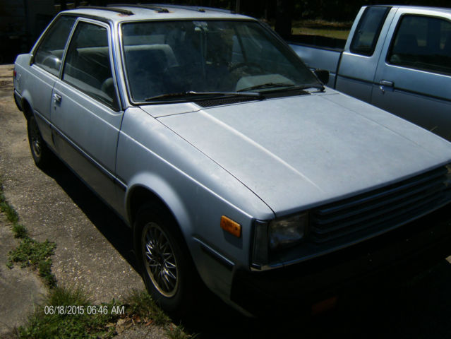 1983 nissan sentra diesel