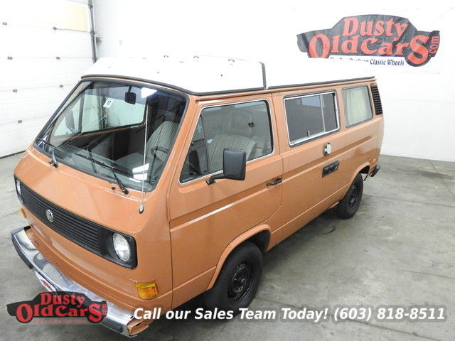 1983 Volkswagen Bus/Vanagon Runs Drives Great Interior Complete Camp Today