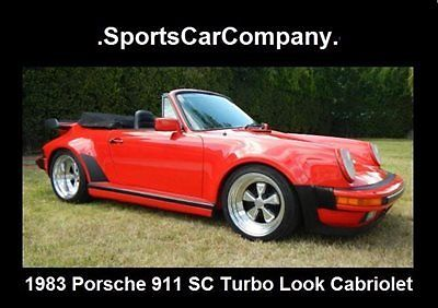 1983 Porsche 911 911 SC TURBO LOOK CABRIOLET