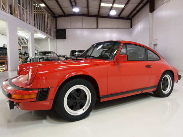 1983 Porsche 911 SC Coupe, low miles! Two owners from new!