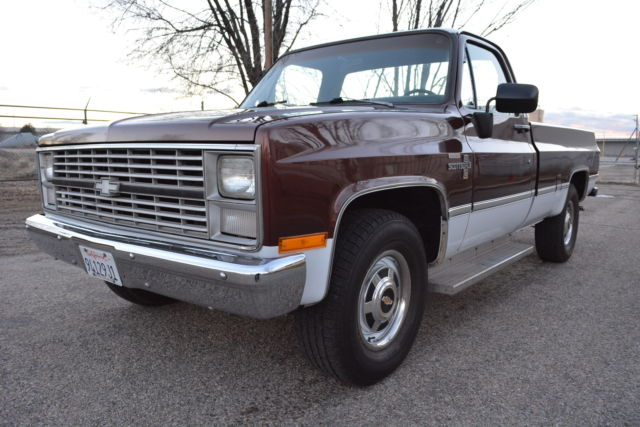 1983 Chevrolet C/K Pickup 2500 SCOTTSDALE
