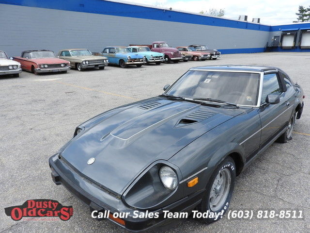 1983 Datsun Z-Series Parts Car Only Engine 2.7L I6 5 spd manual