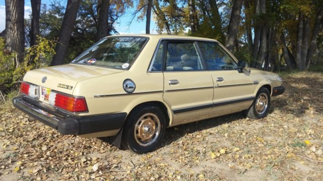 1983 Subaru Gl For Sale  Photos  Technical Specifications