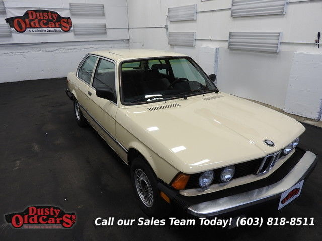 1983 BMW 3-Series Runs Drives Body Inter VGood 1.8L 5 spd man