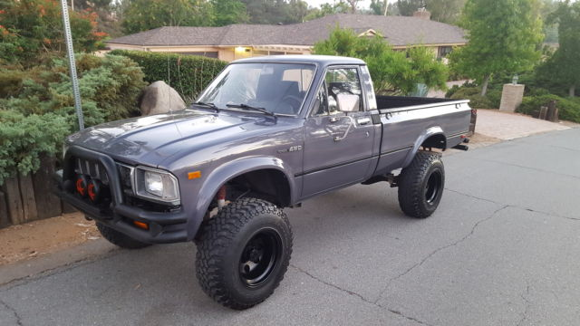 1983 Toyota 4x4 long bed dlx Pickup MUST SEE! for sale ...