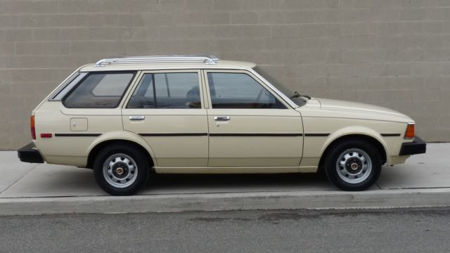 1983 toyota corolla wagon for sale photos technical. Black Bedroom Furniture Sets. Home Design Ideas
