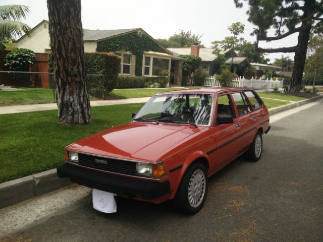 1983 toyota corolla wagon ae72 ae86 excellent conditions for sale photos technical. Black Bedroom Furniture Sets. Home Design Ideas