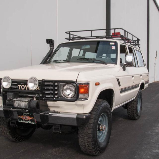 1983 Toyota FJ-60 Land Cruiser, V8 Power, 4x4, Automatic