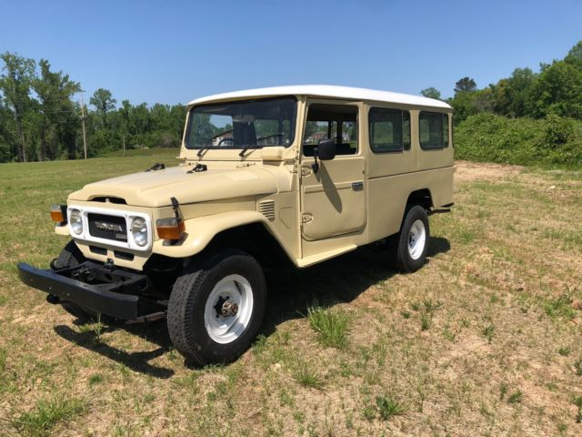 1983 Toyota Land Cruiser Troopie