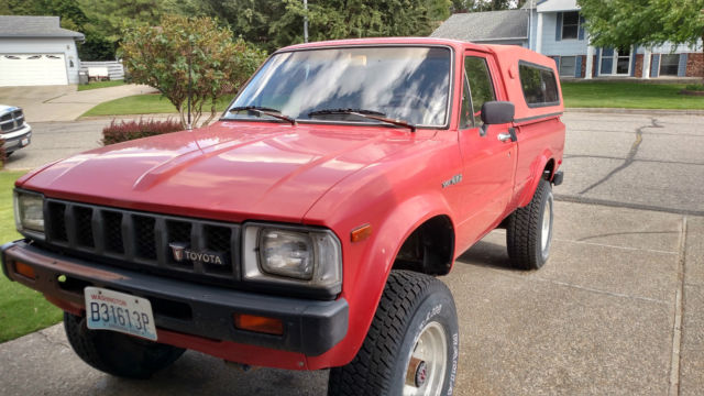 1983 toyota pick up truck sr5 4x4 long bed 2nd owner for sale photos technical specifications. Black Bedroom Furniture Sets. Home Design Ideas