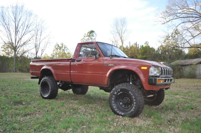 1983 toyota pickup 5 speed 4x4 straight axle reg cab new lift wheels tires for sale photos. Black Bedroom Furniture Sets. Home Design Ideas