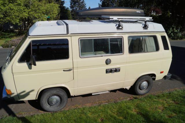 1983 Volkswagen Vanagon Westfalia Camper