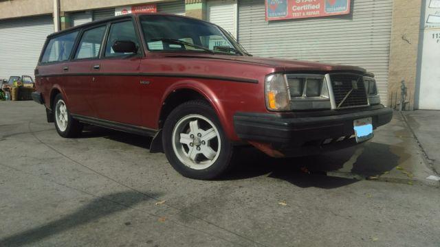 1983 Volvo 245 Glt Turbo 4sp O  D 240 Wagon For Sale