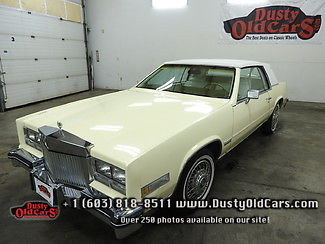 1983 Cadillac Eldorado Runs Drives Interior Body VGood 4.1LV8