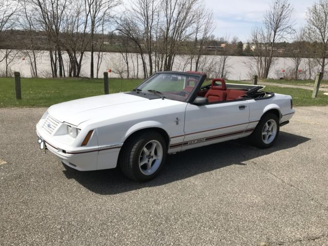 1984 Ford Mustang GT-350 20th Anniversary Convertible 2-Door