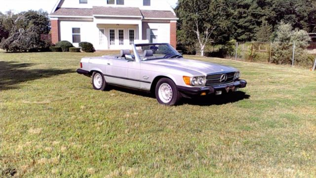 1984 Mercedes-Benz 300-Series 2 Dr Convertible with hardtop