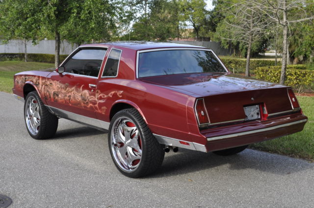 1984 85 86 87 88 chevrolet monte carlo chevy caprice classic impala show car for sale photos. Black Bedroom Furniture Sets. Home Design Ideas