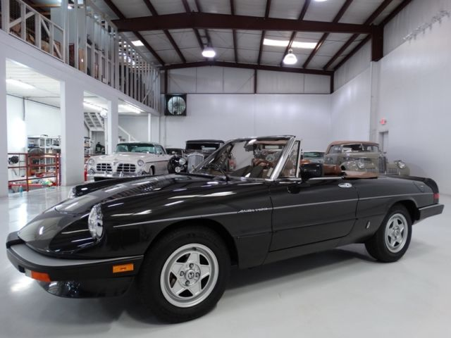 1984 Alfa Romeo Other Veloce ONLY 7,886 ACTUAL MILES! ONE OWNER FROM NEW
