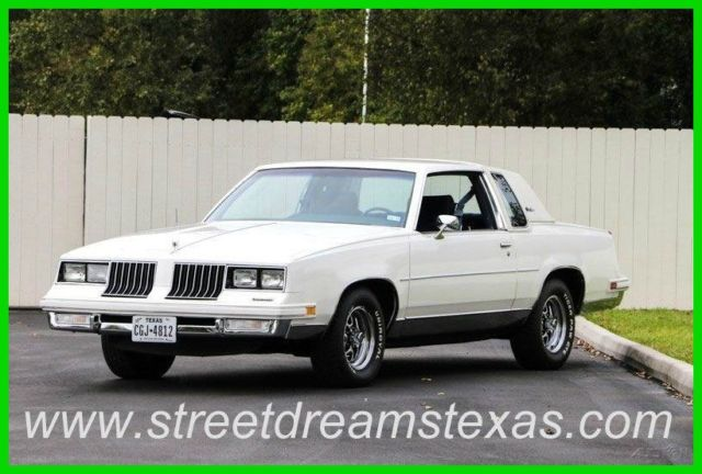 1984 Oldsmobile Cutlass Base 2dr Coupe