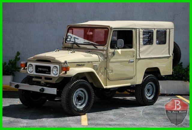 1984 Toyota Land Cruiser ONE OWNER NUT AND BOLT RESTORATION  DIESEL BJ43