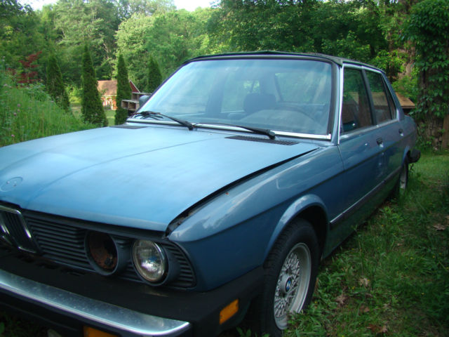 1984 bmw 528e parts car power windows sun roof auto for Sun motor cars bmw