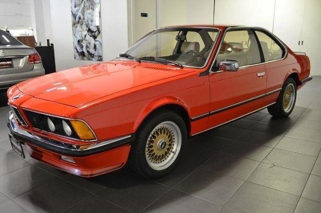 1984 Bmw 635 Csi Euro 79563 Miles Henna Red Spark Ignition 4 Stroke