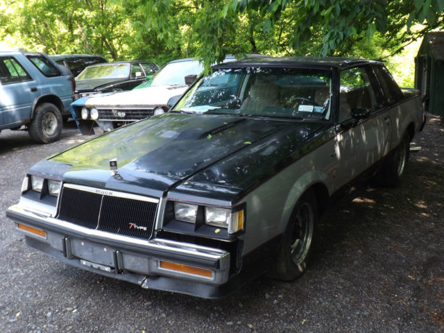1984 buick regal t type wh1 designer series 3 8 turbo non integrated runs drives for sale. Black Bedroom Furniture Sets. Home Design Ideas