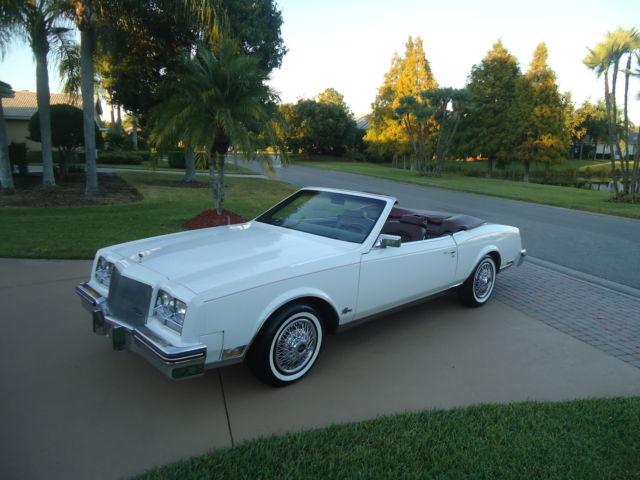 1984 buick riviera convertible - gorgeous -32,608 miles- excellent