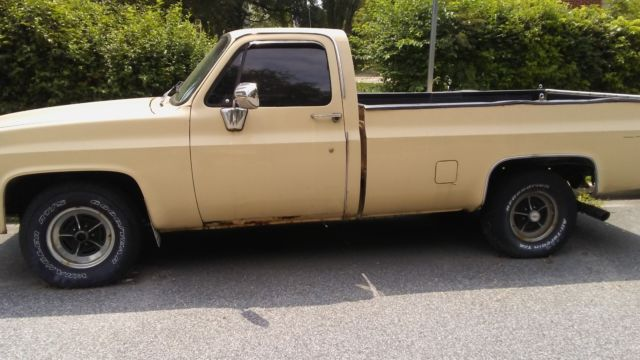 1984 c10 pickup truck for sale photos technical specifications description. Black Bedroom Furniture Sets. Home Design Ideas