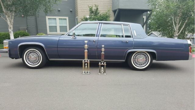 1984 Cadillac Deville with only 11,500 miles for sale: photos ...