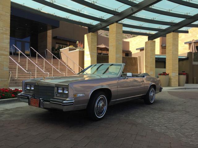 1984 Cadillac Eldorado Convertible 2 Door 41l For Sale Photos