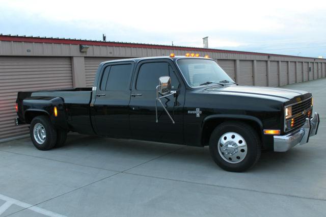 1984 chevrolet c30 silverado crew cab pickup 4 door 7 4l for sale photos technical. Black Bedroom Furniture Sets. Home Design Ideas