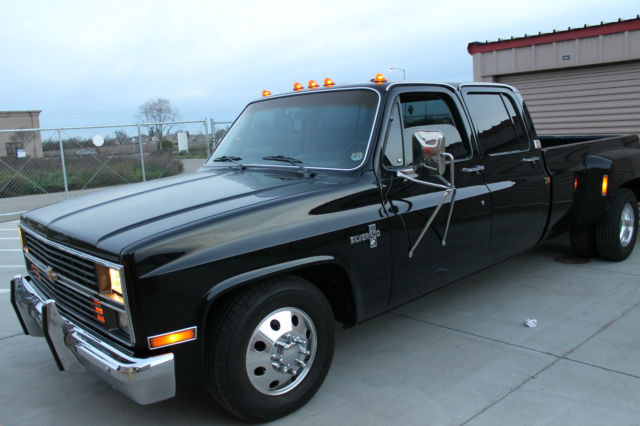 1984 chevrolet c30 silverado crew cab pickup 4 door 7 4l for sale photos technical. Black Bedroom Furniture Sets. Home Design Ideas