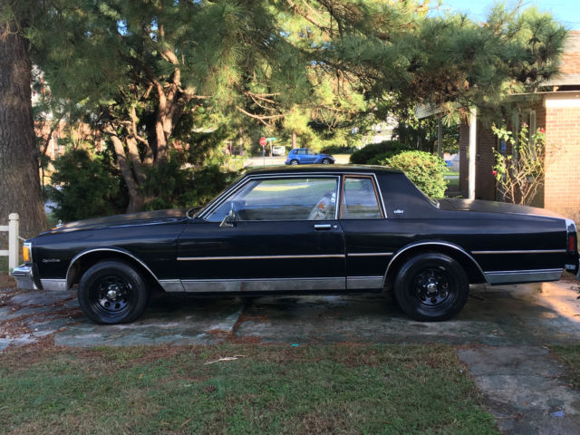 1984 Chevrolet Caprice Classic Coupe 2-Door 3 8L for sale: photos