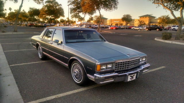 Used Cars Phoenix >> 1984 Chevrolet Caprice Classic Sedan 4-Door 5.0L for sale: photos, technical specifications ...