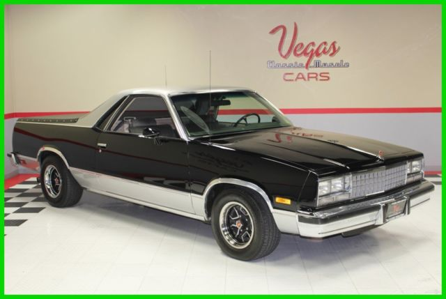 1984 Chevrolet El Camino 1984 Chevrolet El Camino Turbocharged! Sleeper!