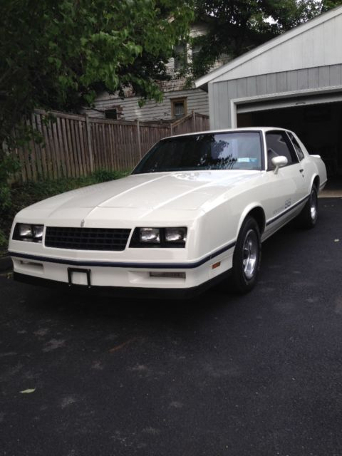 1984 Chevrolet Monte Carlo SS Sport Coupe
