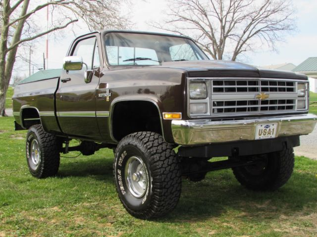 1984 Chevrolet C/K Pickup 1500 Scottsdale